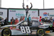 Harvick wins Atlanta Xfinity race with ease
