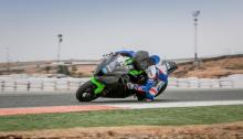 Dunlop impresses during first test on MSS Kawasaki