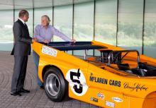 McLaren honours fallen founder