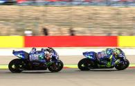 Rossi and Vinales