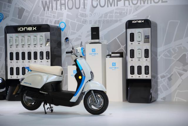 Kymco Ionex scooter launch