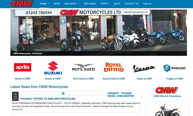 CMW motorcycles