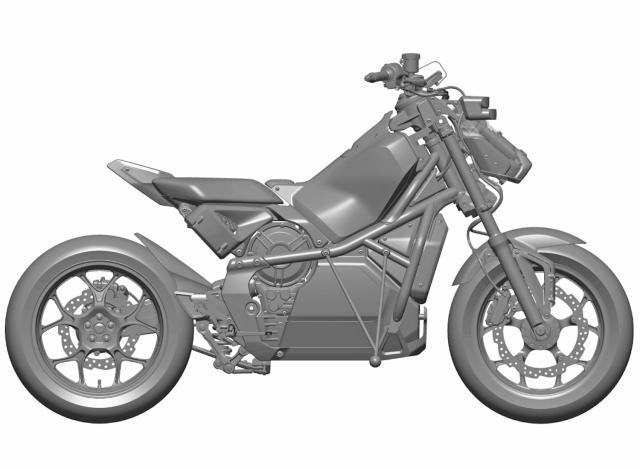 Honda Riding Assist-e patent image