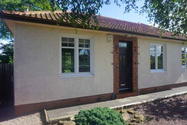 2 Bedrooms Detached Bungalow for sale in Holmston Road, Ayr, Ayrshire, KA7 3JH