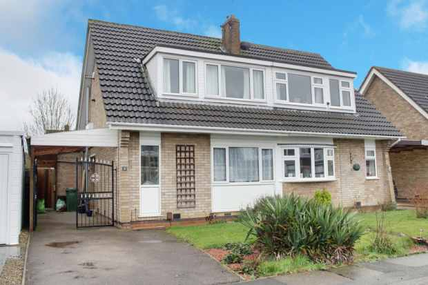 3 Bedrooms Semi Detached Bungalow for sale in Grendon Close, Wigston, Leicestershire, LE18 3WE