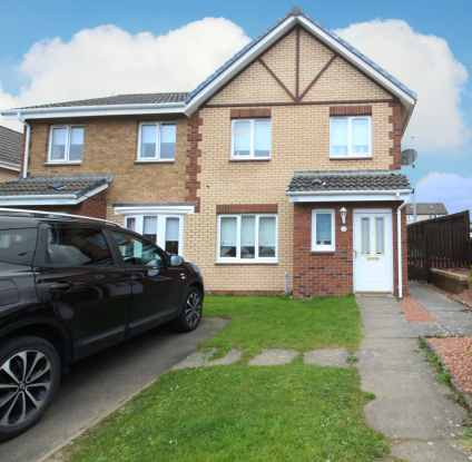 3 Bedrooms Semi Detached House for sale in Horatius Street, Motherwell, Lanarkshire, ML1 3RR