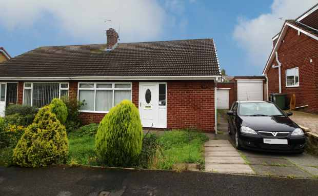2 Bedrooms Semi Detached Bungalow for sale in Eden Close, Saltburn-By-The-Sea, Cleveland, TS12 2NB