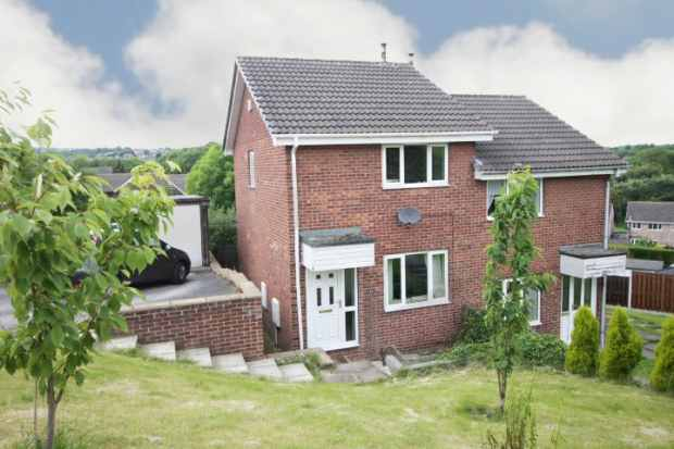 2 Bedrooms Semi Detached House for sale in Habershon Drive, Sheffield, South Yorkshire, S35 2ZT