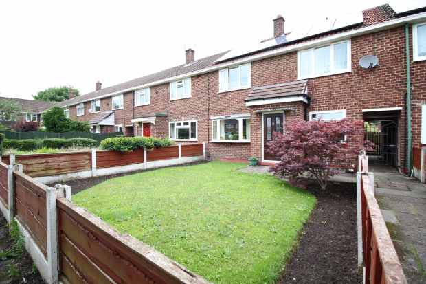 3 Bedrooms Terraced House for sale in Pickmere Close, Sale, Cheshire, M33 2XG