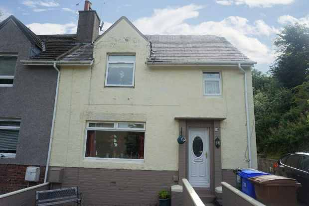 4 Bedrooms Semi Detached House for sale in Robertson Avenue, Cumnock, Ayrshire, KA18 1DD