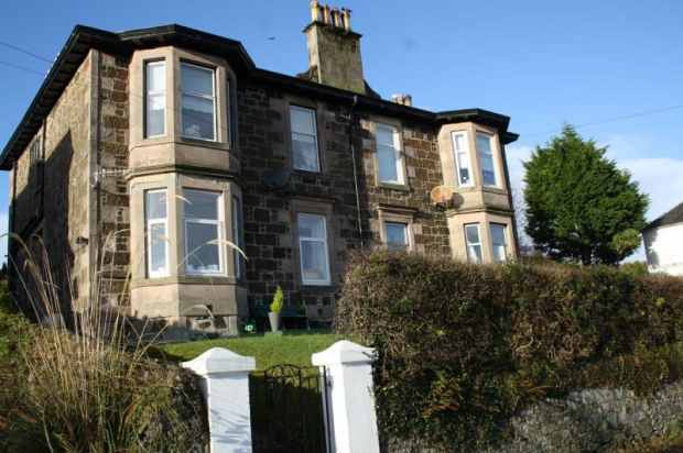 2 Bedrooms Flat for sale in Inkerman Terrace, Rothesay, Isle Of Bute, PA20 0JG