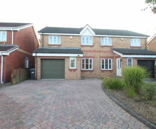 3 Bedrooms Semi Detached House for sale in Shuttleworth Close, Doncaster, South Yorkshire, DN11 0FP