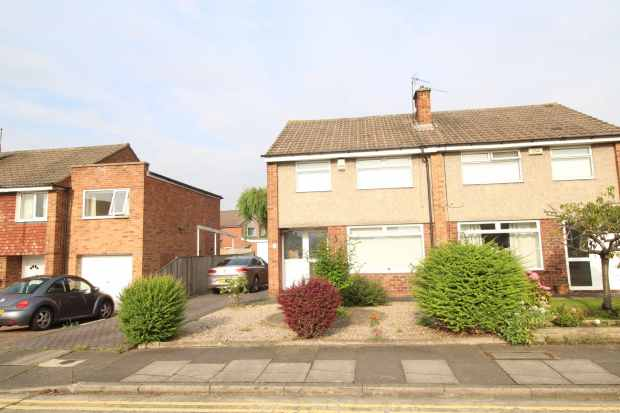 3 Bedrooms Semi Detached House for sale in Lyttleton Drive, Stockton-On-Tees, Cleveland, TS18 5LE