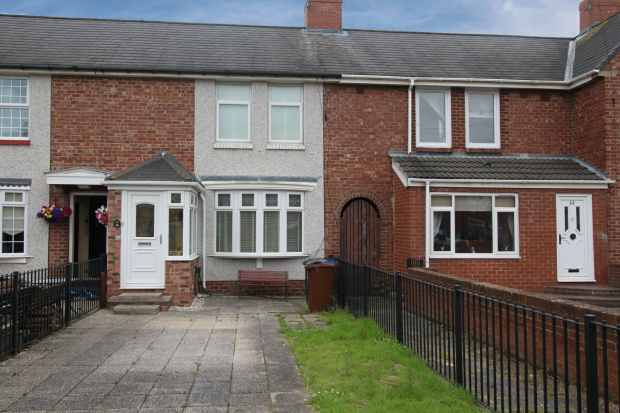 2 Bedrooms Terraced House for sale in Burnham Grove, Newcastle Upon Tyne, Tyne And Wear, NE6 2LY