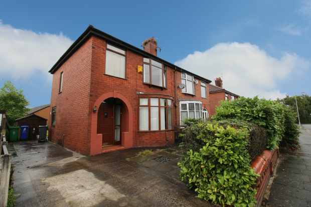 3 Bedrooms Semi Detached House for sale in Barlea Avenue, Manchester, Greater Manchester, M40 3WL