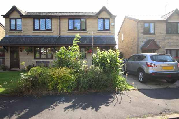 3 Bedrooms Semi Detached House for sale in Highfield Park, Rossendale, Lancashire, BB4 4BH