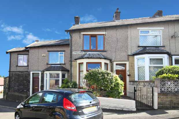 2 Bedrooms Terraced House for sale in St Paul's Road, Nelson, Lancashire, BB9 0QX