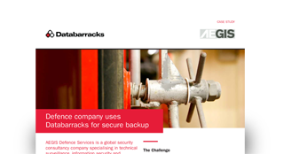 Defence company uses Databarracks for secure backup