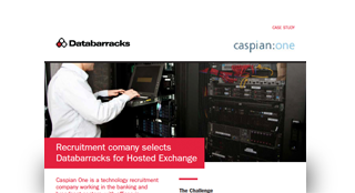 Recruitment company selects Databarracks for Hosted Exchange