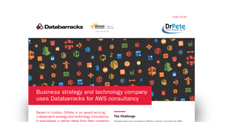 Business strategy and technology company uses Databarracks for AWS consultancy
