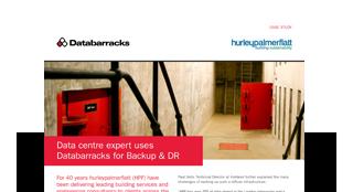 Data centre expert uses Databarracks for Backup & DR