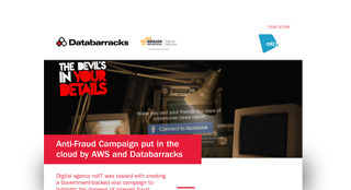 Anti-Fraud Campaign put in the cloud by AWS and Databarracks