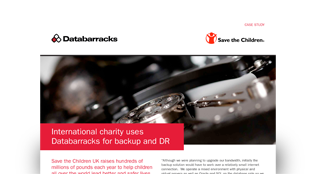 International charity uses Databarracks for Backup and DR