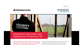 Independent steel trader uses Databarracks for Backup & DR