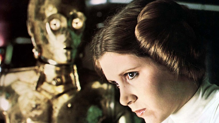 Carrie Fisher 1977 als Prinzessin Lea in  (Foto: picture alliance / Mary Evans Pi)
