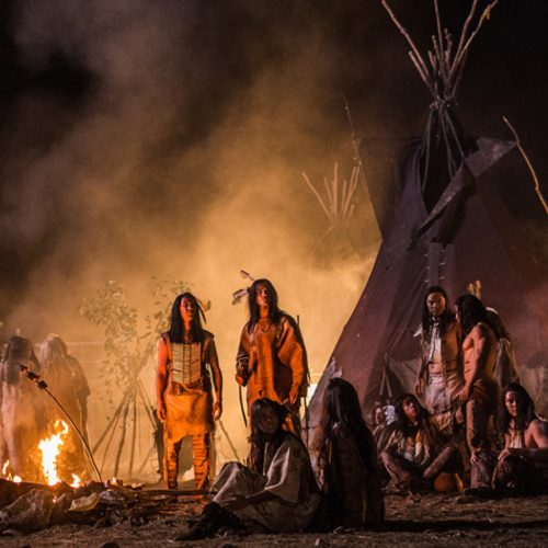 RTL-Mediengruppe Microsite for the movie-event Winnetou