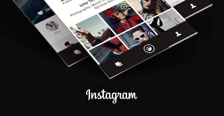 Robs Instagram Redesign Konzept