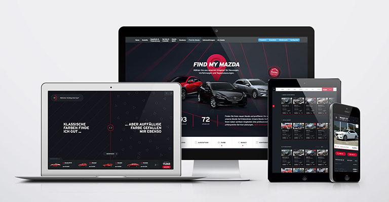 Demodern macht Mazda.de zur Vertriebsplattform