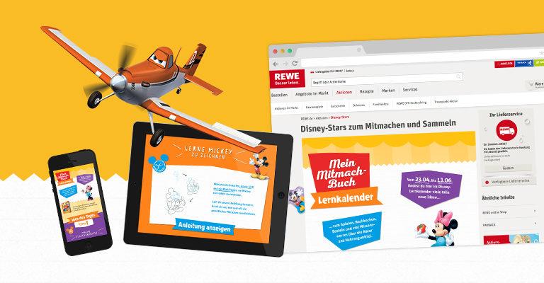 Disney Lernkalender für REWE