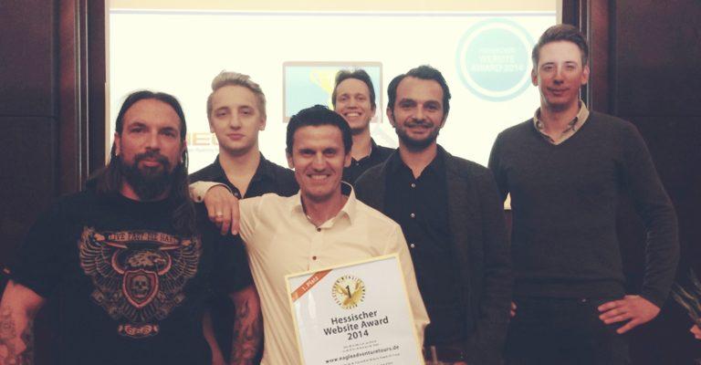 1. Platz beim Hessischen Website Award 2014