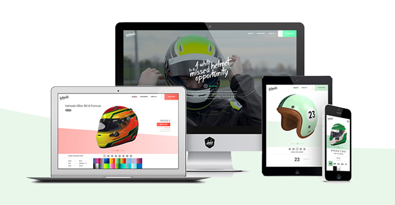 Demodern develops product configurator for helmet start-up helmade