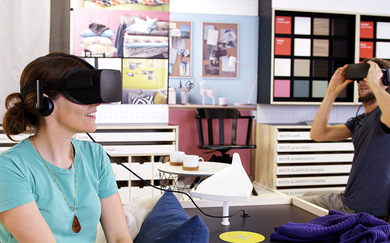 IKEA Virtual Reality Showroom