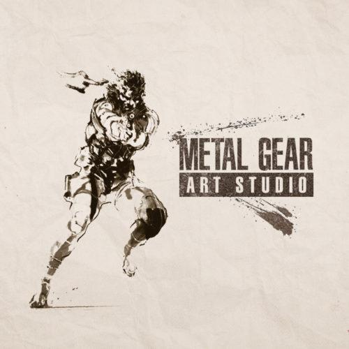 Konami Metal Gear Art Studio