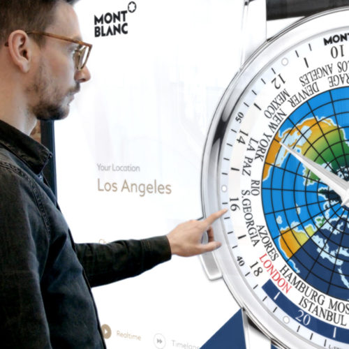 Montblanc Exclusive Digital Product Presentation