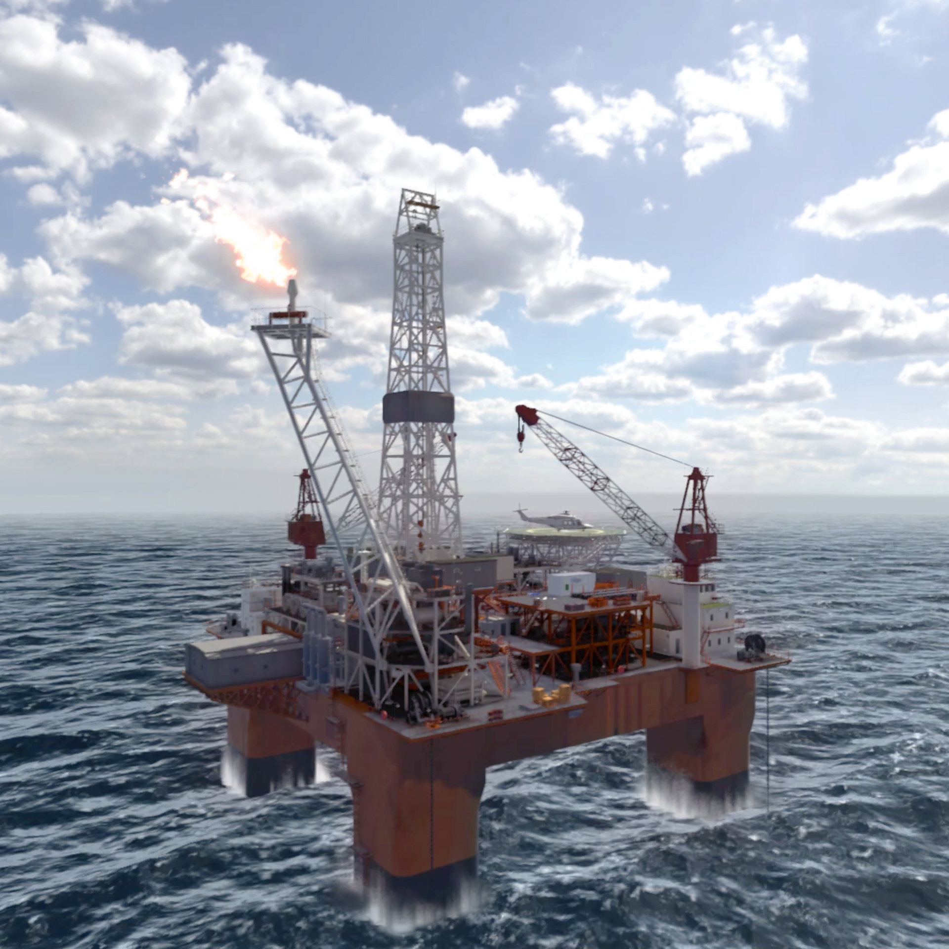 Dräger Offshore VR Experience