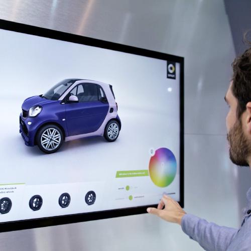 smart 3D WebGL Auto Konfigurator