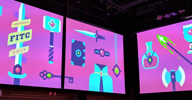 FITC Amsterdam 2018: Design. Technology. Cool Shit.