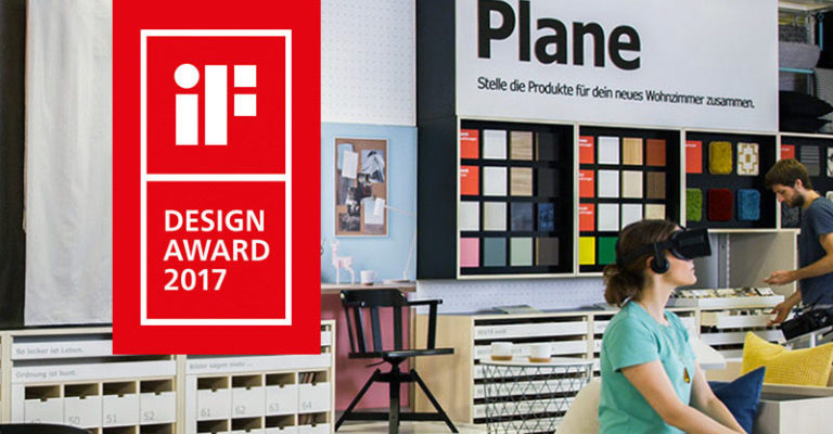IF Design Award 2017 for our IKEA Virtual Reality Showroom