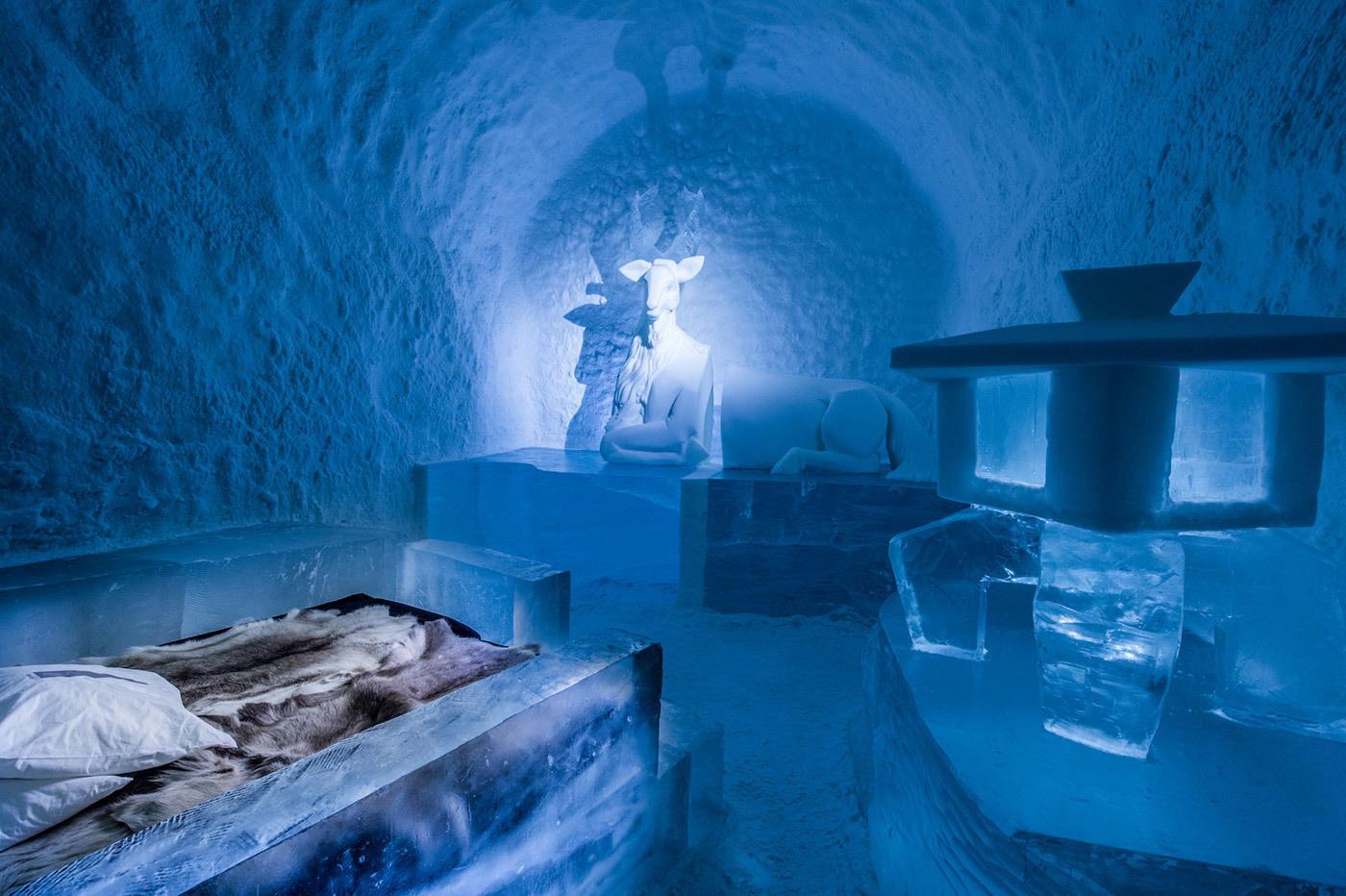Es ist soweit: Erstes Eishotel öffnet 365 Tage im Jahr seine Türen