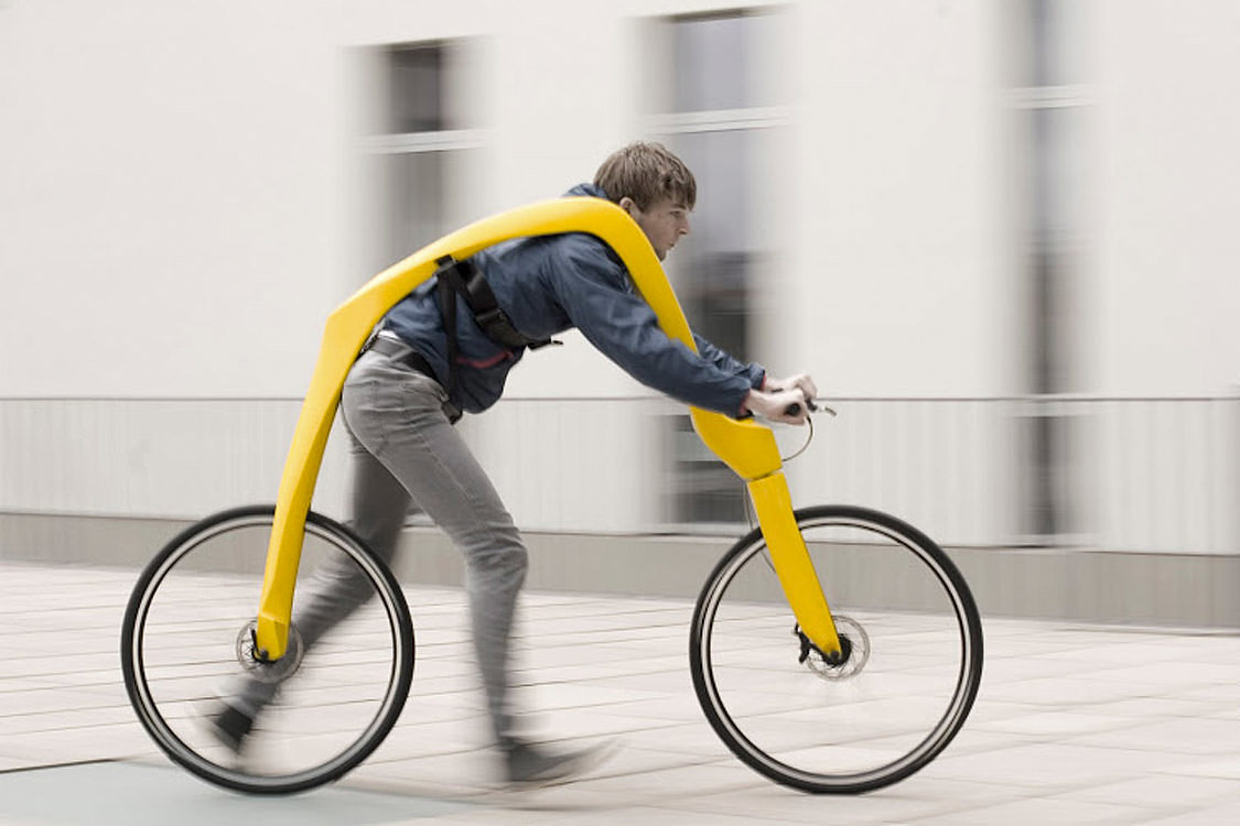 The FLIZ Concept Replaces The Centuries-Old Bicycle Design