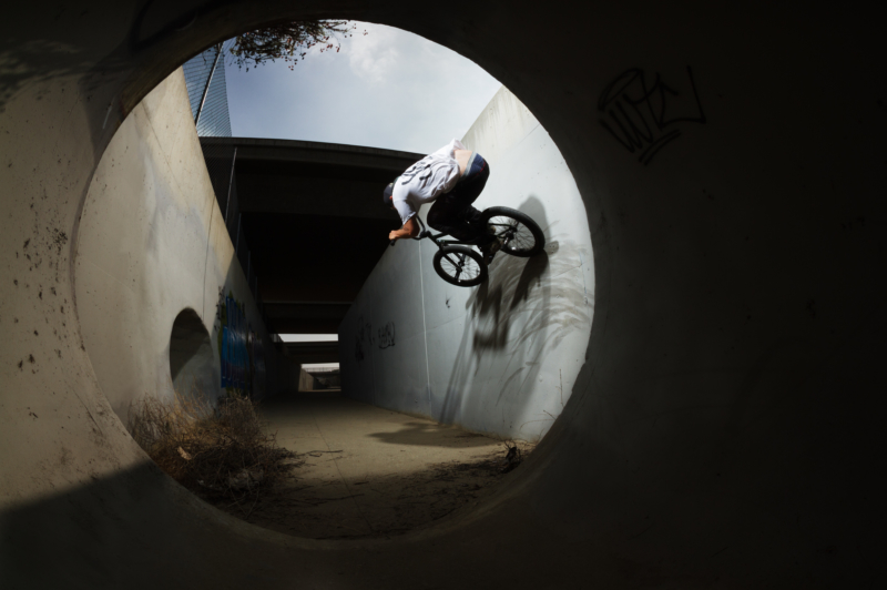 Tunnel carve to wallride.  Jason originally did this to 180 for his Volume 'The Finer Things' section and we went back a few months later for the photo.  Photo: Devin Feil