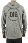 Logo Hoodie Back Small Digthis