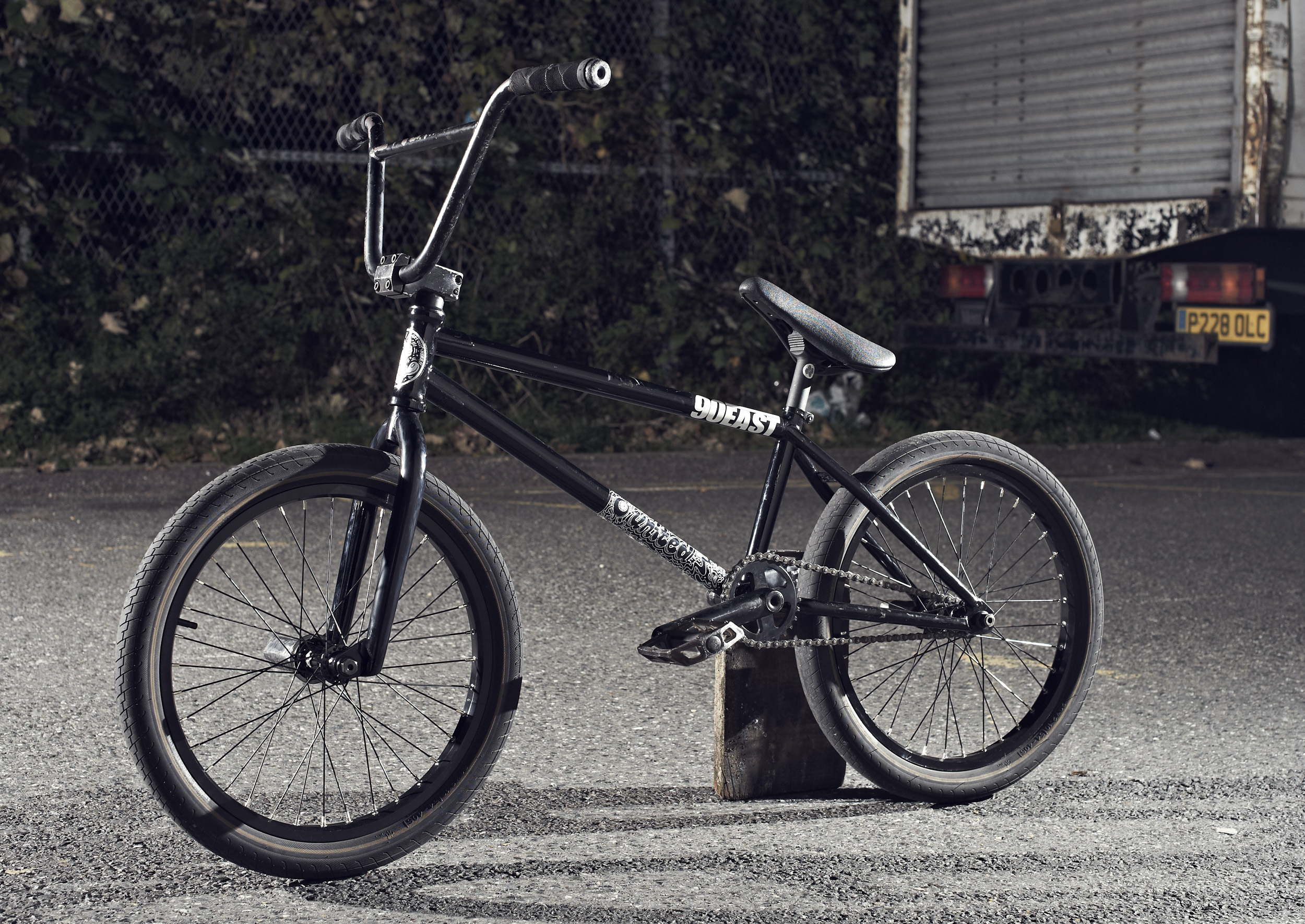 First Look Tom Sanders and the New United Region Frame DigBMX