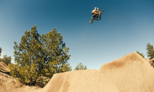 Nathan boosts this jump. Safe to say he could (and does) do this for hours on end.