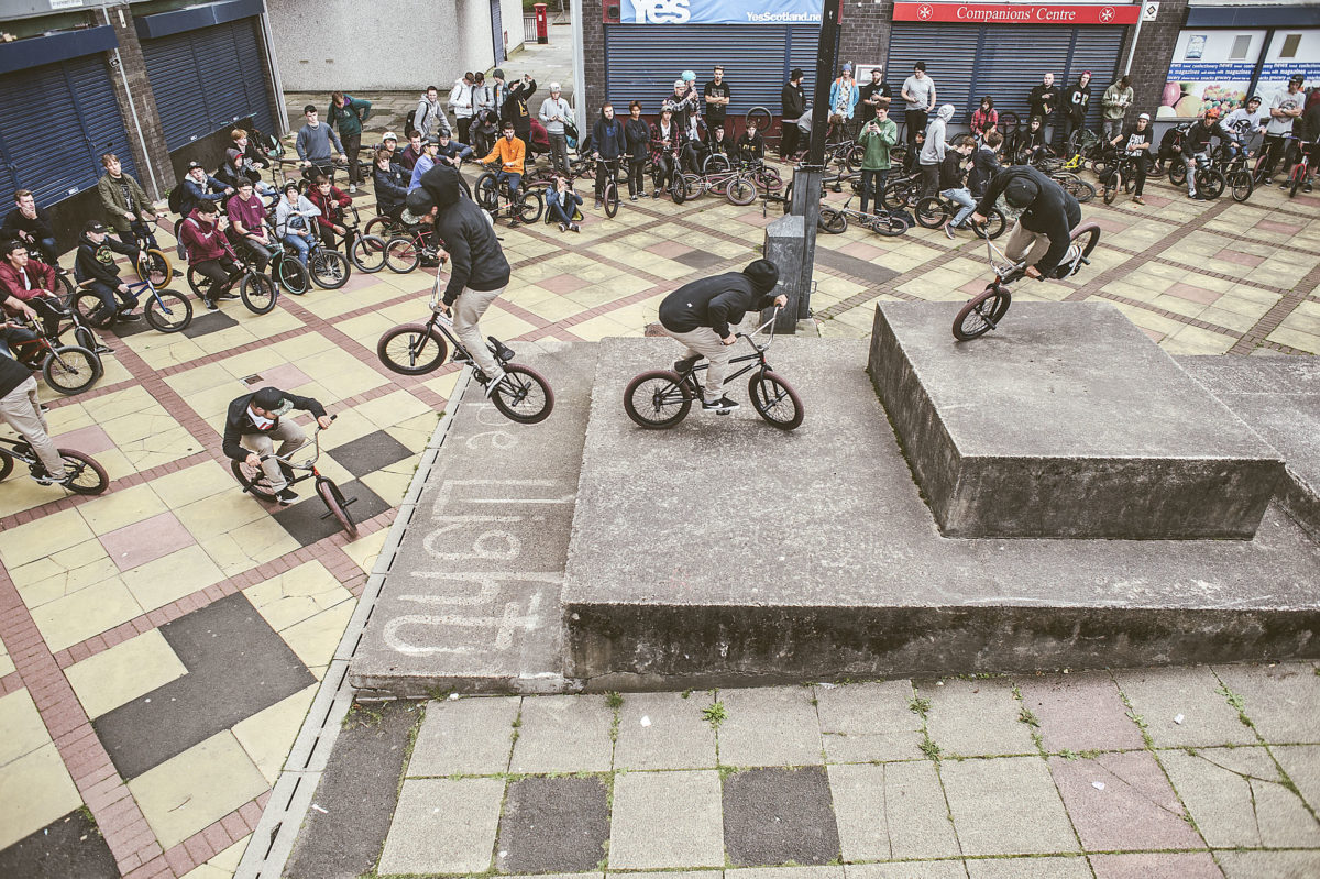 THE STREET SERIES X BMX DAY 2015 GLASGOW PHOTO GALLERY