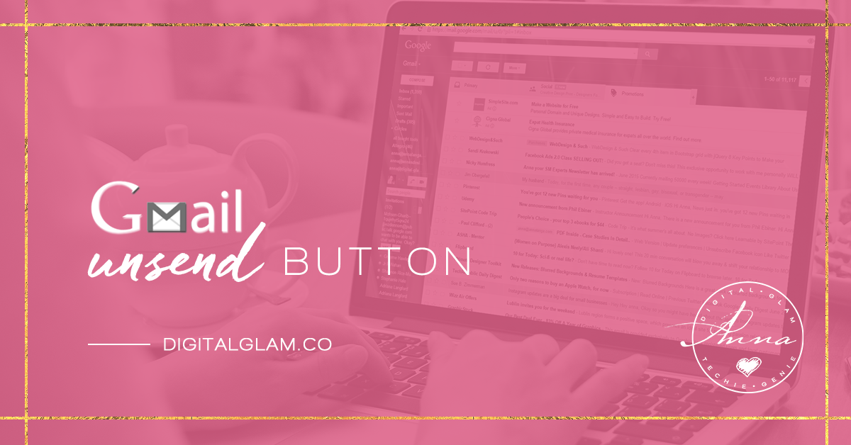 No more email shame – Gmail Undo Send button